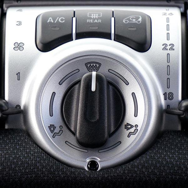 Autopflege innen Klimaanlage