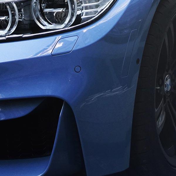 Autoaufbereitung  Entfernung Kratzer