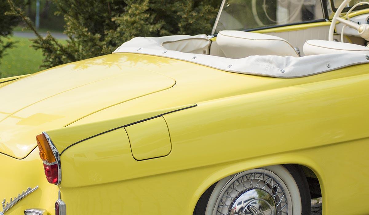 Versiegelung Auto Cabrio