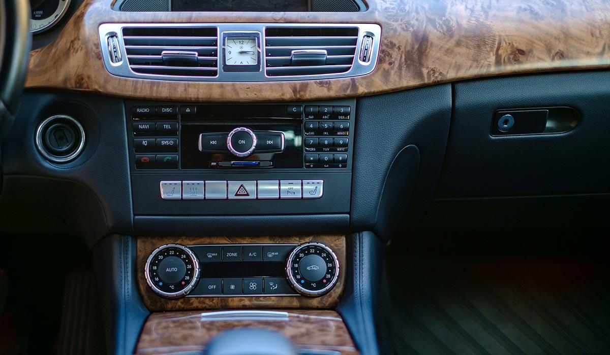 Versiegelung Auto Cockpit