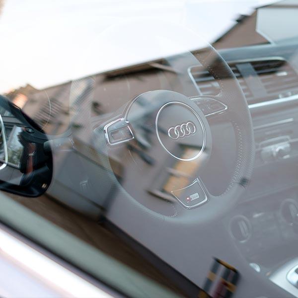 Versiegelung Scheiben Auto Fenster